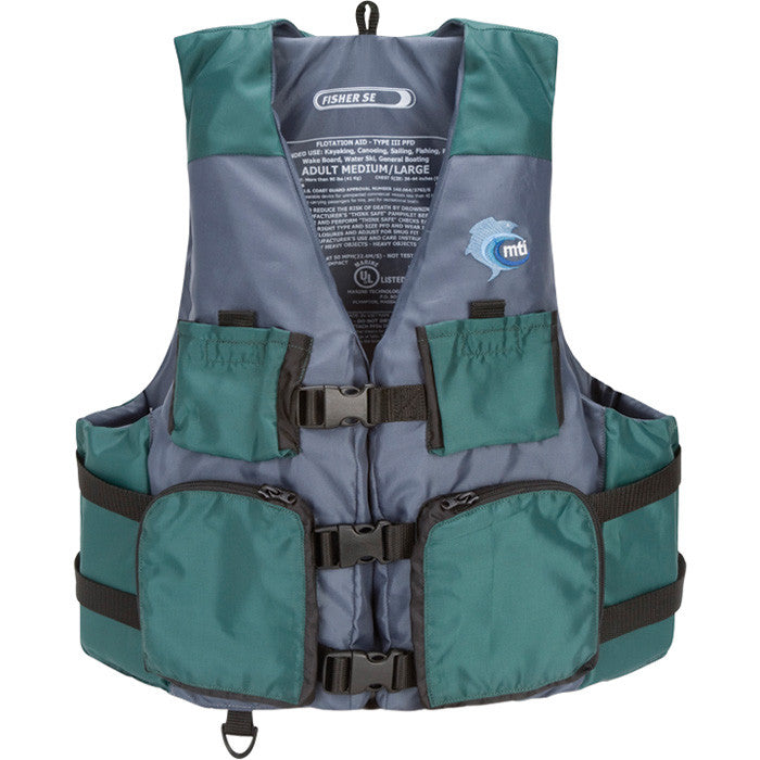 MTI Fisher Life Jacket