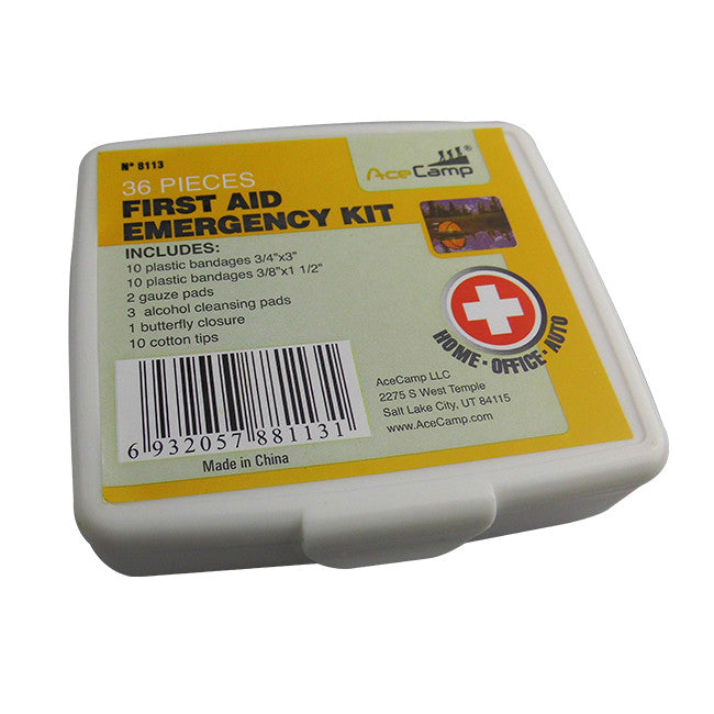 36 Piece First Aid Kit by AceCamp