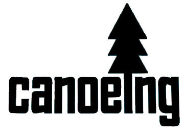 Canoeing Car Decal