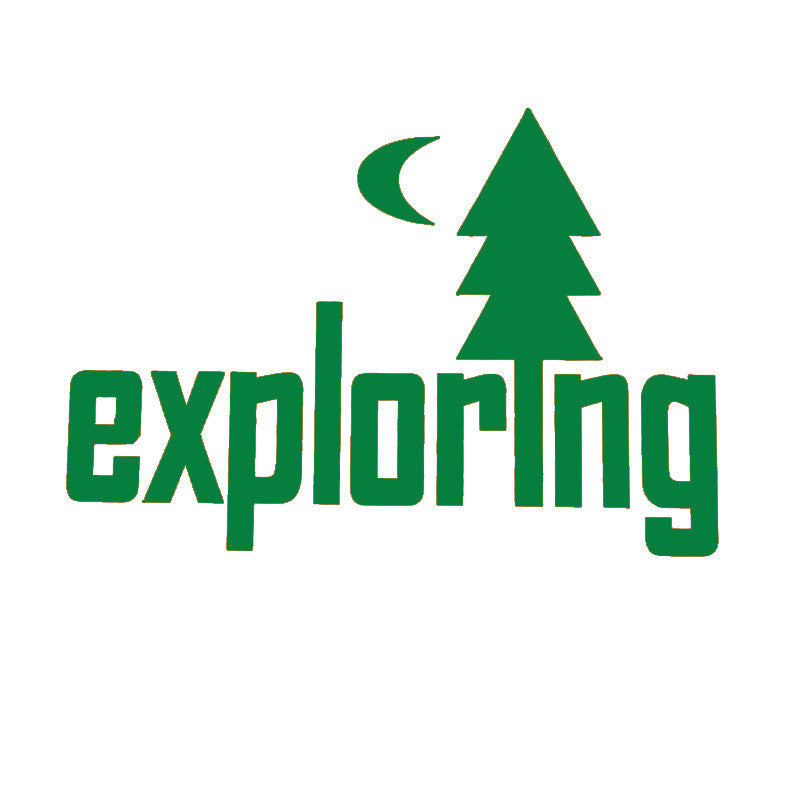 Exploring Car Decal