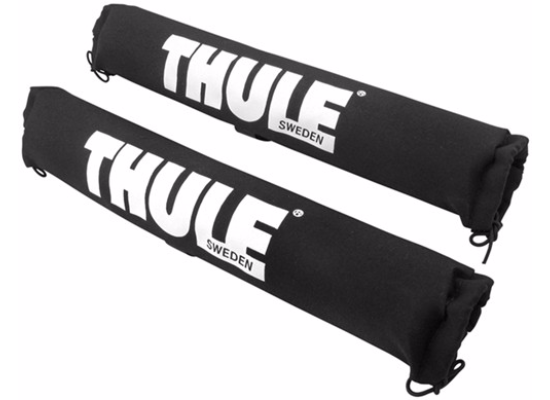 "Thule Surf Pad - Crossbar Pad for Aero, Xsporter and Factory Bars - 18"" Long - Qty 2"