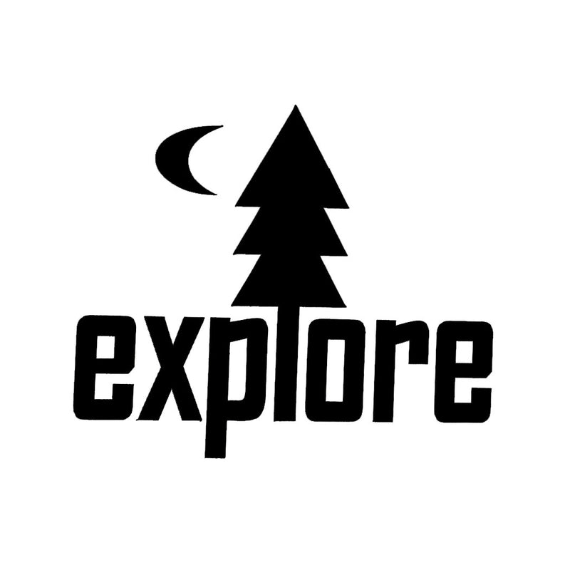 Explore Car Decal