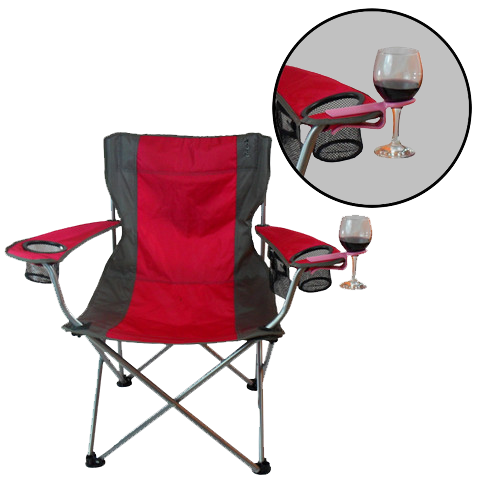 Folding Chair Wine Hook Attachment