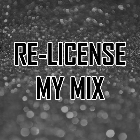 RE-License my Custom Mix