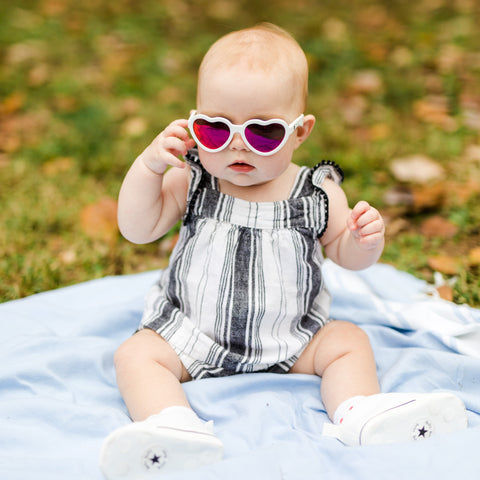 Tips For Getting Kids to Wear Sunglasses