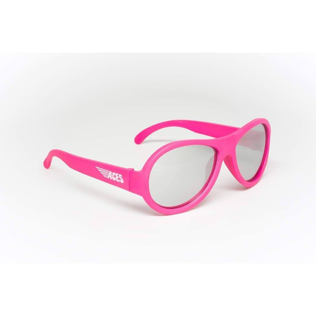 Babiators Aces Aviator Popstar Pink with Mirrored Lens