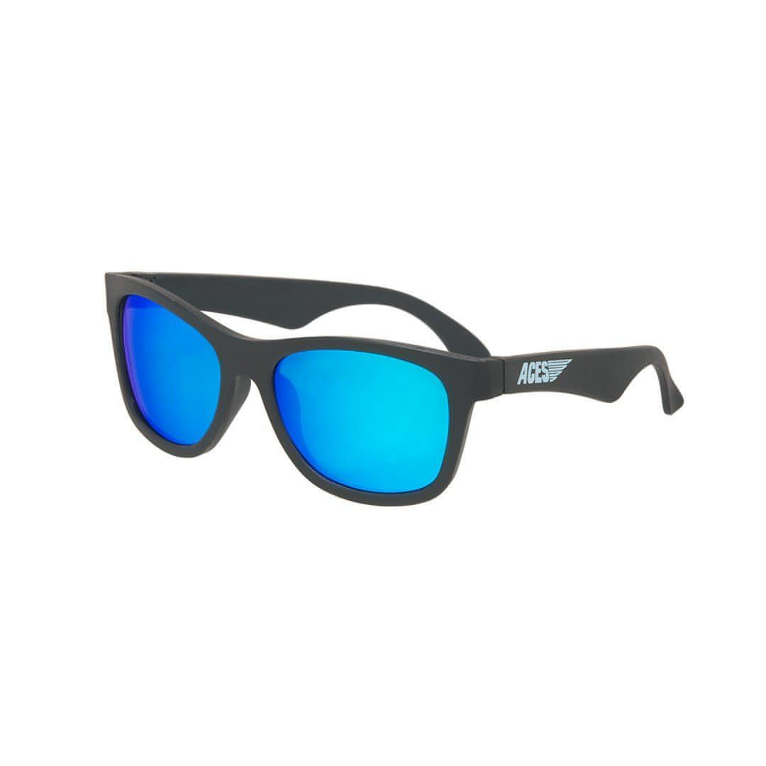 Babiators Aces Navigator - Black Ops Black with Blue Lens