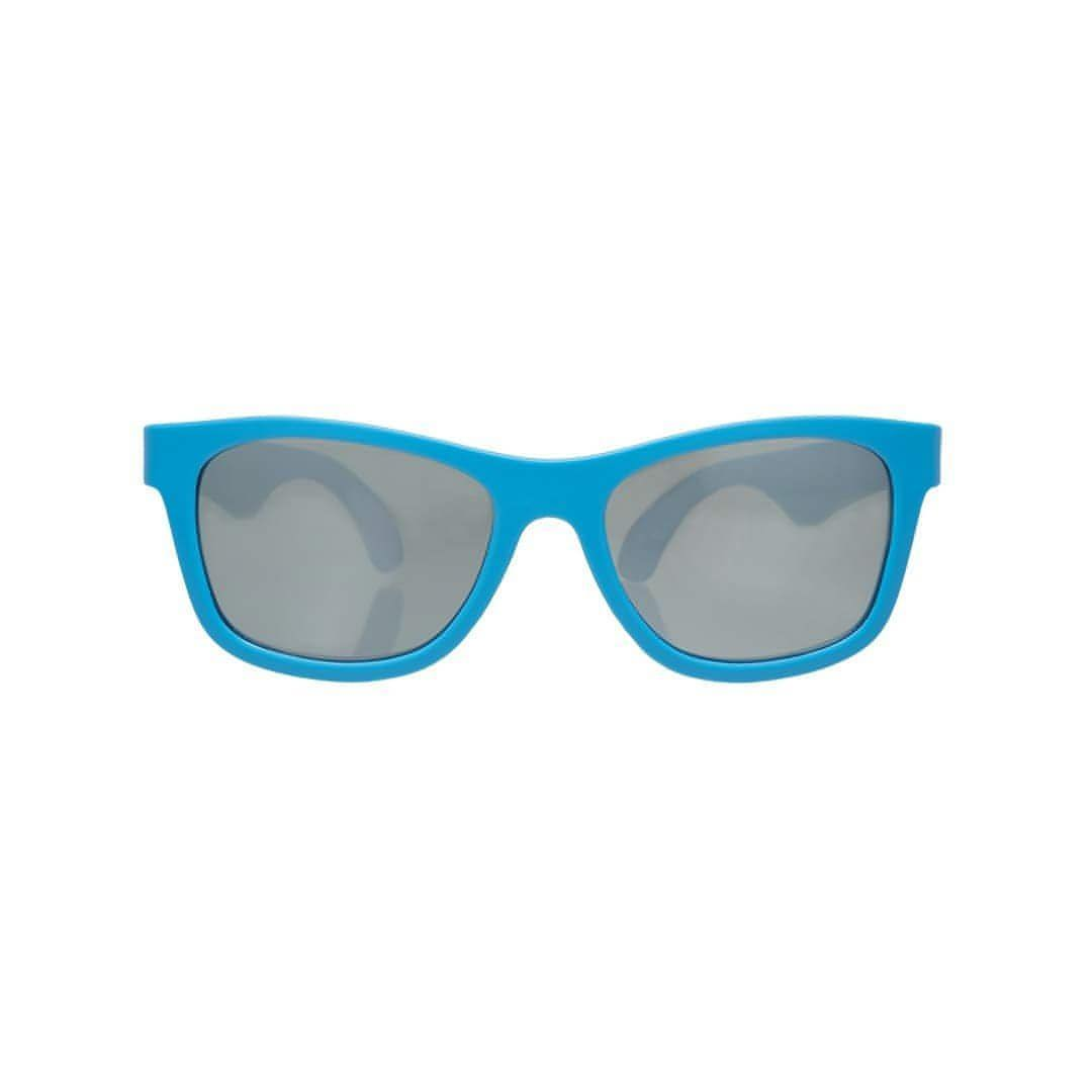 Babiators Aces Navigator - Blue Crush with Mirrored Lens Front