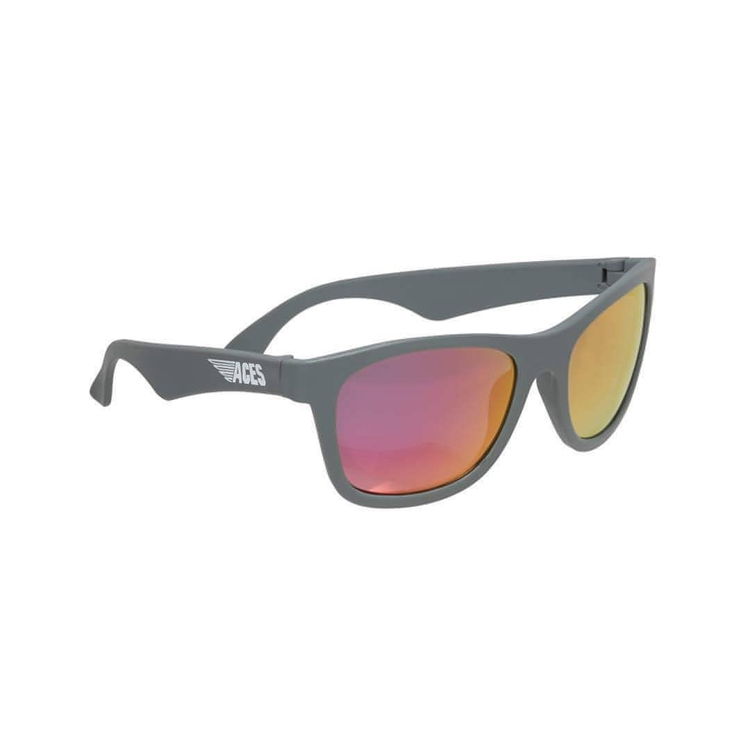 Babiators Aces Navigator Galactic Gray with Pink Lens