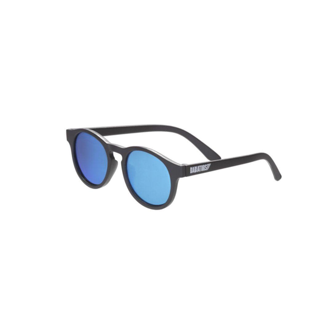 Babiators Blue Series Keyhole - Black/Blue Mirrored Lens