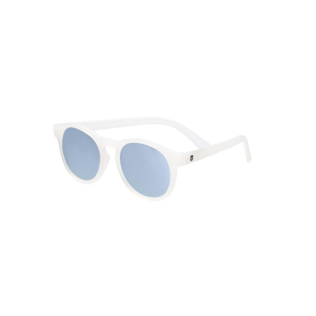 Babiators Blue Series Keyhole - Transparent/Blue Mirrored Lens - Sunglasses - Natural Baby Shower