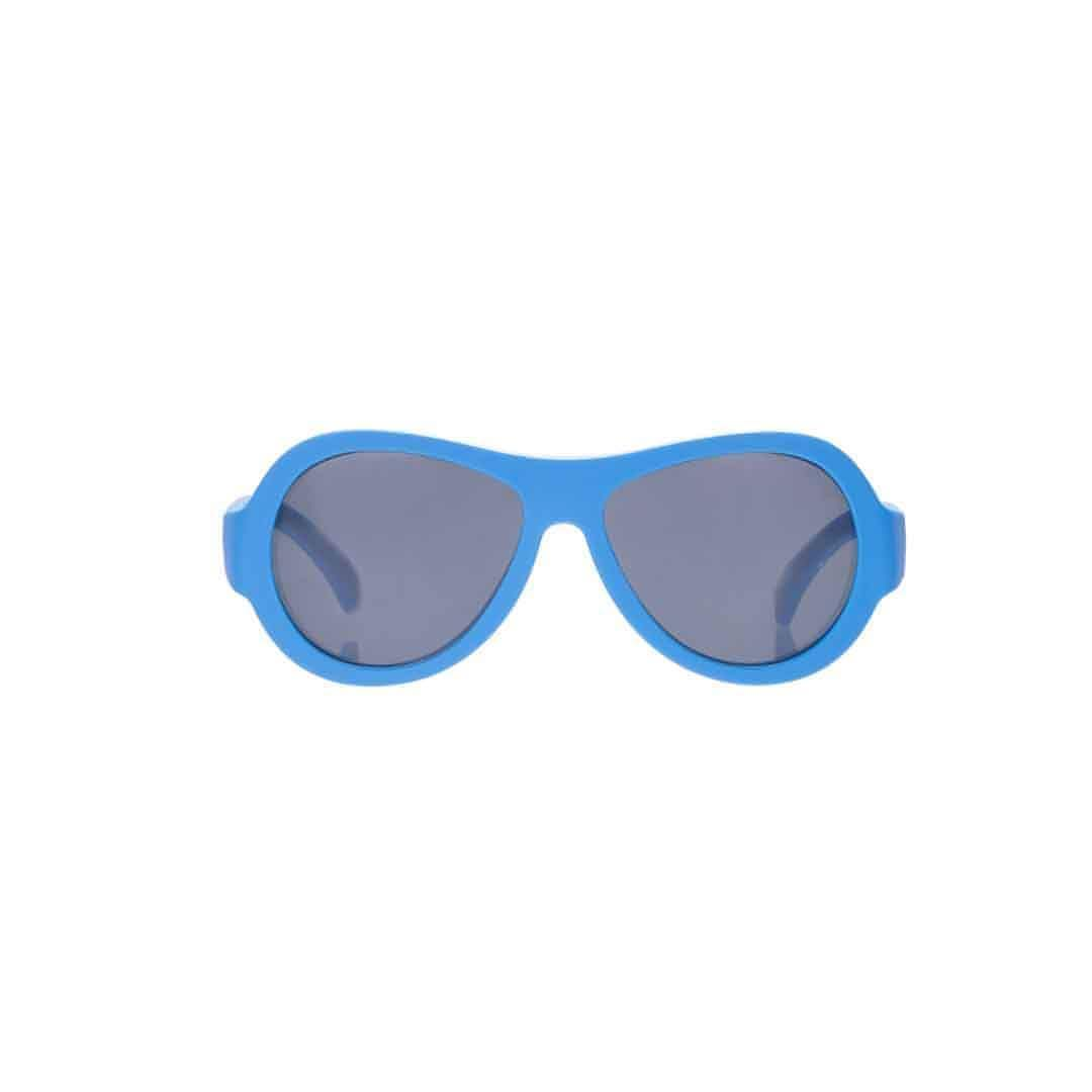 Babiators Original Aviator - True Blue - Sunglasses - Natural Baby Shower