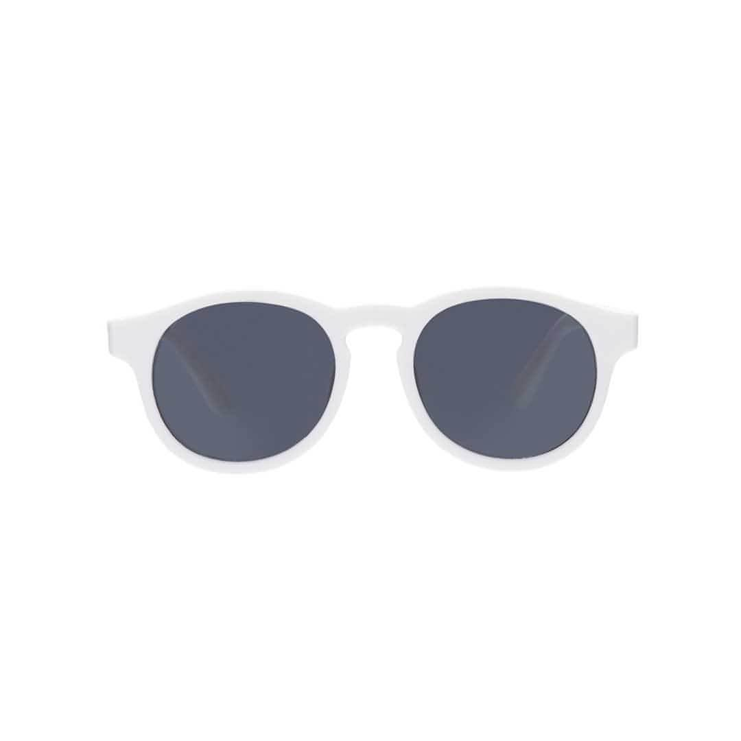 Babiators Original Keyhole Sunglasses - Wicked White