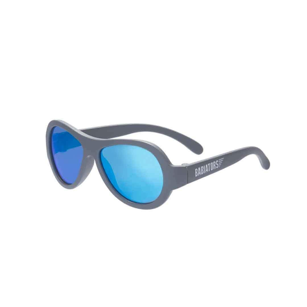 Babiators Premium Aviator - Blue Steel - Sunglasses - Natural Baby Shower