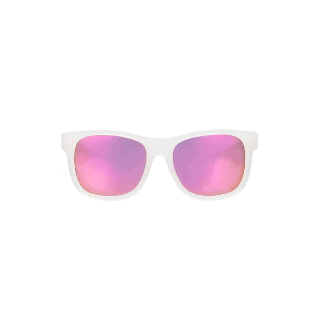 Babiators Premium Navigator - Pink Ice 2 - Sunglasses - Natural Baby Shower