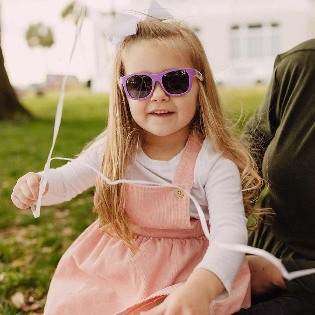 Babiators Printed Navigator Sunglasses - Rainbows