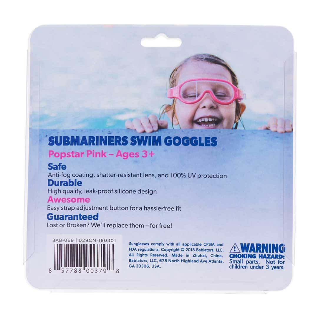 Babiators Submariners - Popstar Pink Packaging