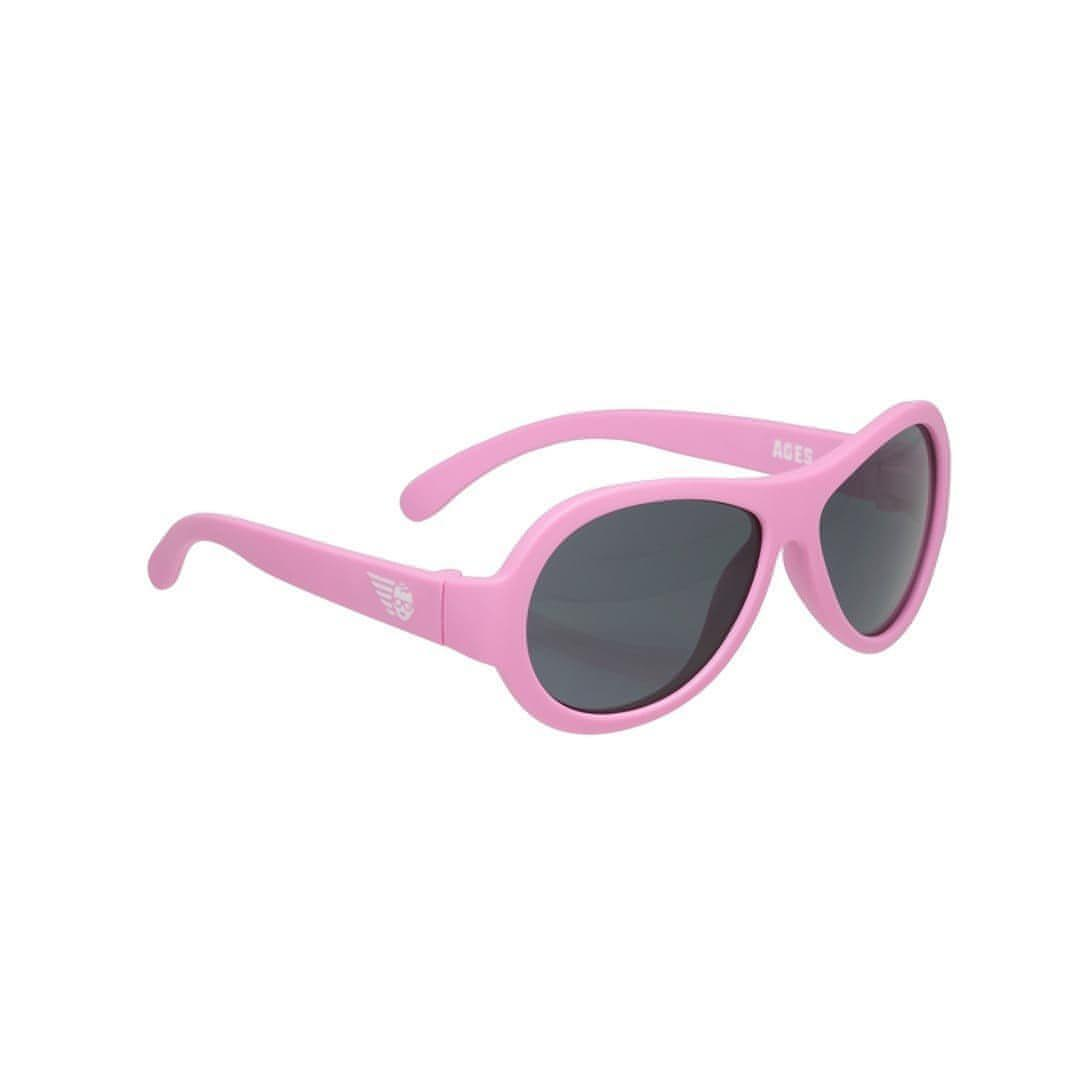 Babiators Originals - Princess Pink Aviator 2 - Sunglasses - Natural Baby Shower