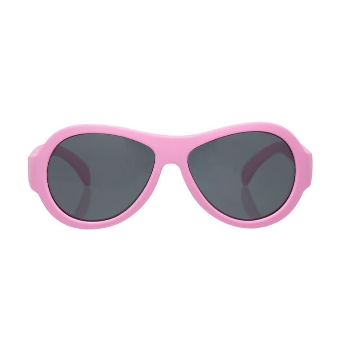 Babiators Originals - Princess Pink Aviator - Sunglasses - Natural Baby Shower