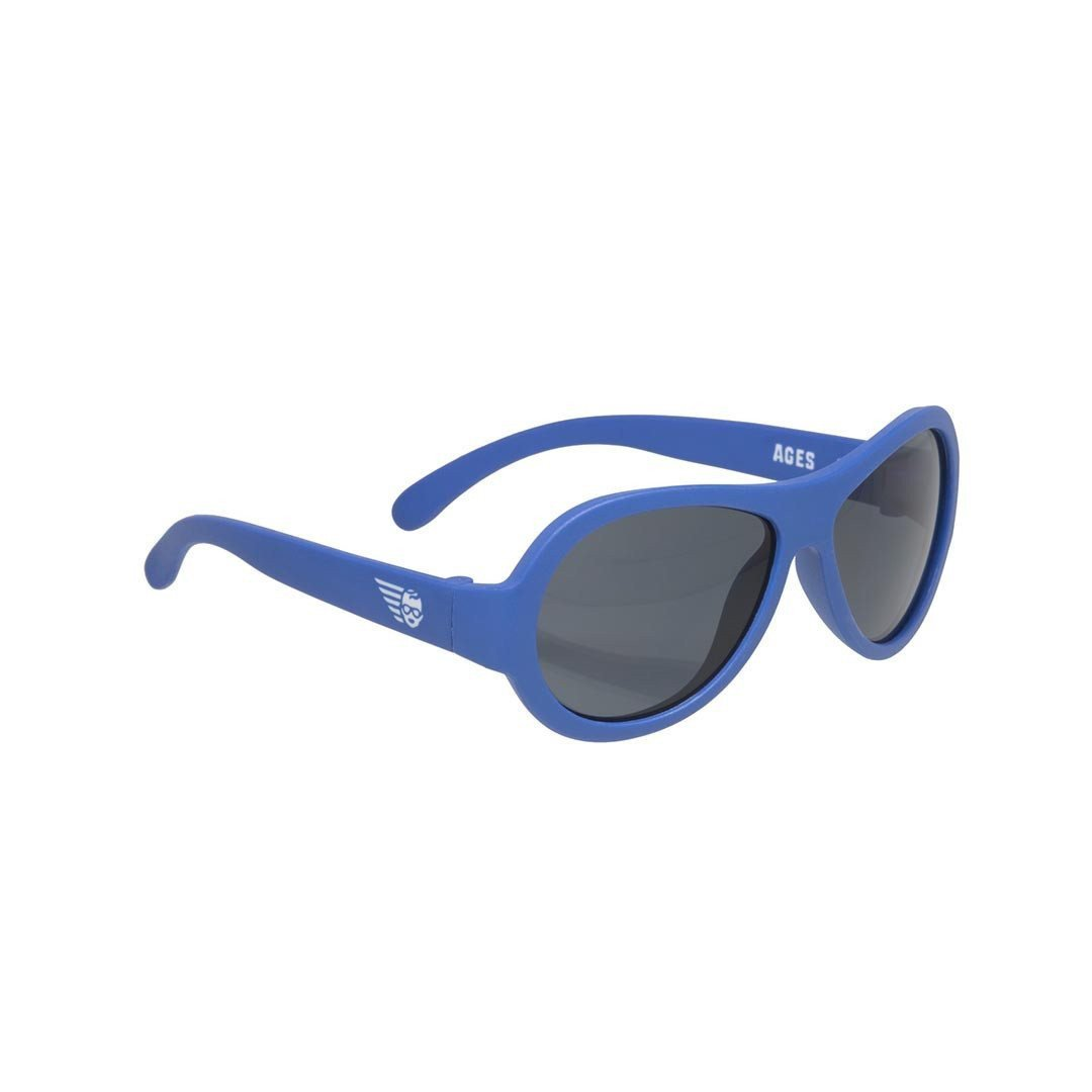 Babiators Originals - Blue Angels Blue Aviator 2 - Sunglasses - Natural Baby Shower