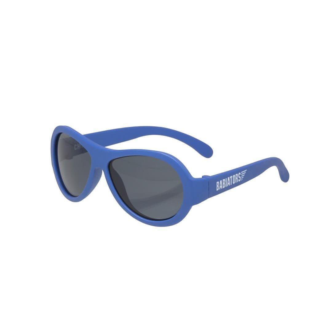 Babiators Originals - Blue Angels Blue Aviator 3 - Sunglasses - Natural Baby Shower
