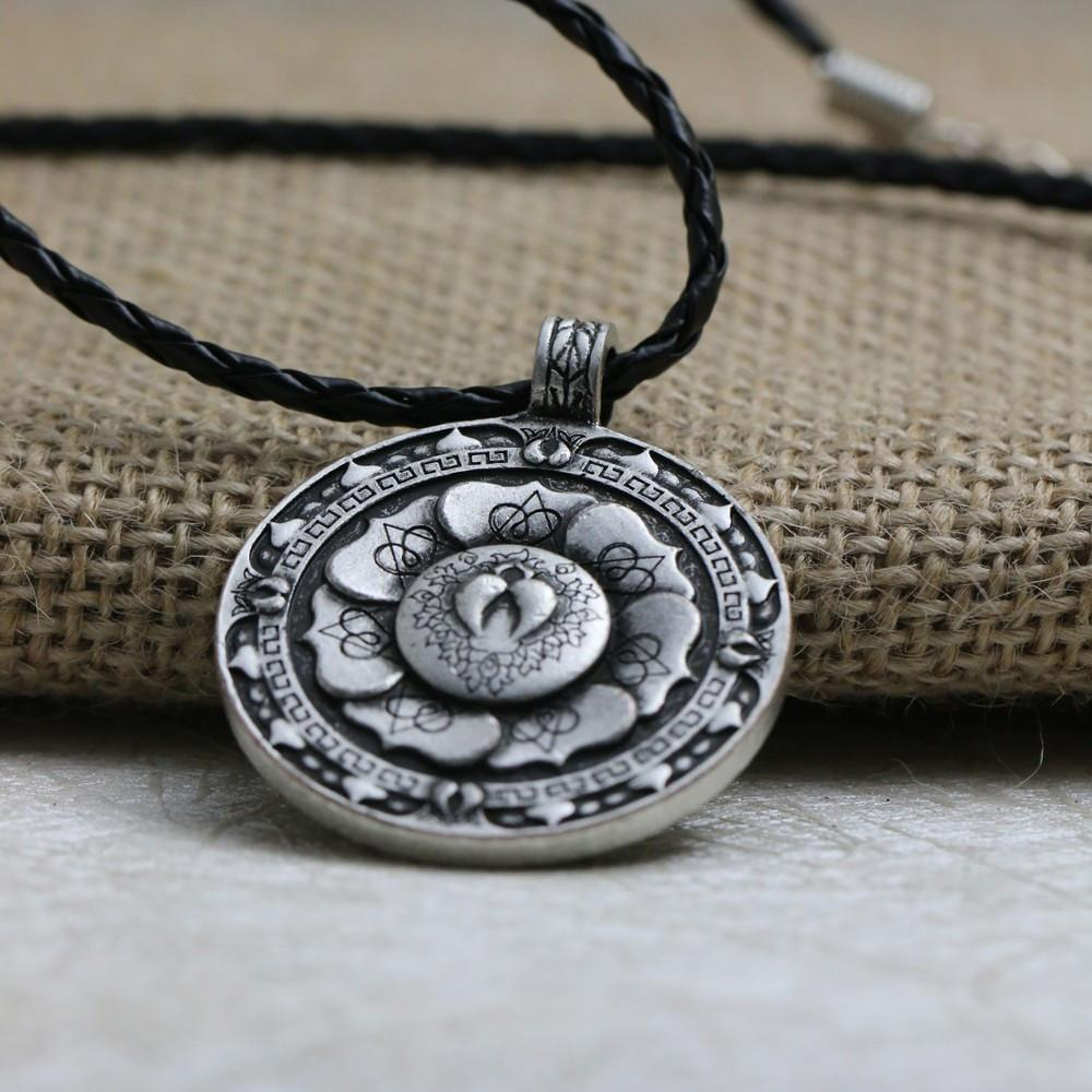 pendant sri product eye the spiritual necklace yantra yoga chakra mandala store