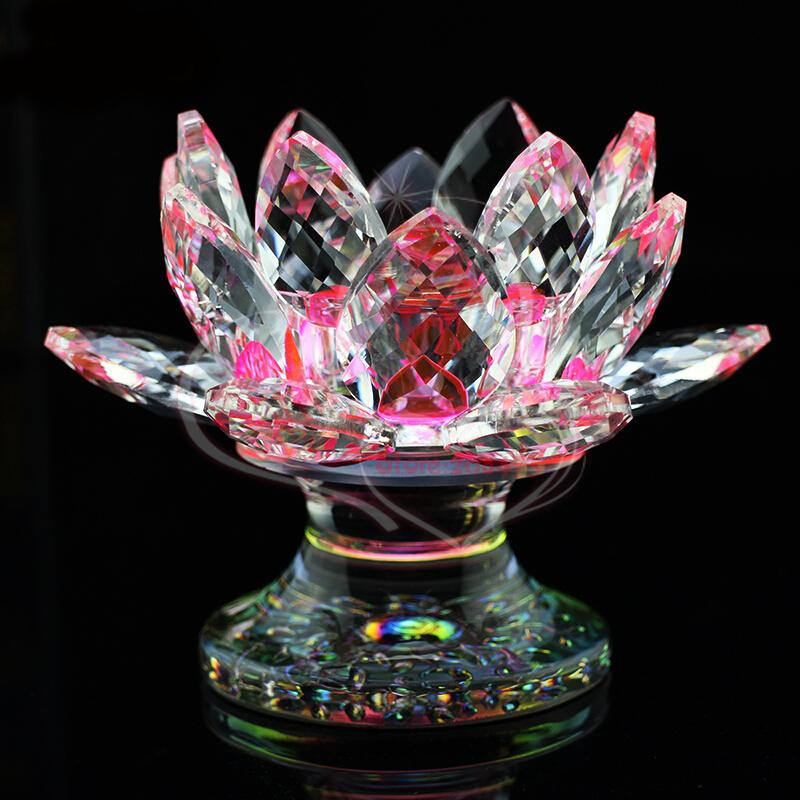 Feng shui crystal lotus candle holder zenshopworld feng shui crystal lotus candle holder mightylinksfo
