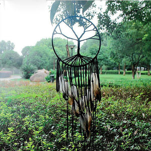 Tree of Life Dreamcatcher Wind Chimes & Hanging Decorations HC Arts&Crafts Store