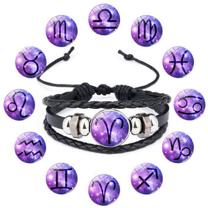 12 Constellation Hand Crafted Bracelets Charm Bracelets HOBBORN Factory Store