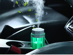 LED Essential Oil Car Diffuser Humidifiers Rainbow Electronics Technology Co.,Ltd