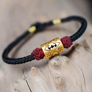 Hand knitted Good Luck Charm Bracelet LKO Official Store