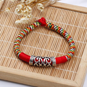 Hand Weaved Good Luck and Happiness Bracelet LKO Official Store 16.5cm