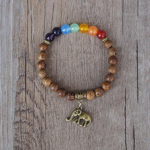 Handmade 7 Chakra Balancing and Luck Bracelet Amader Amader Store