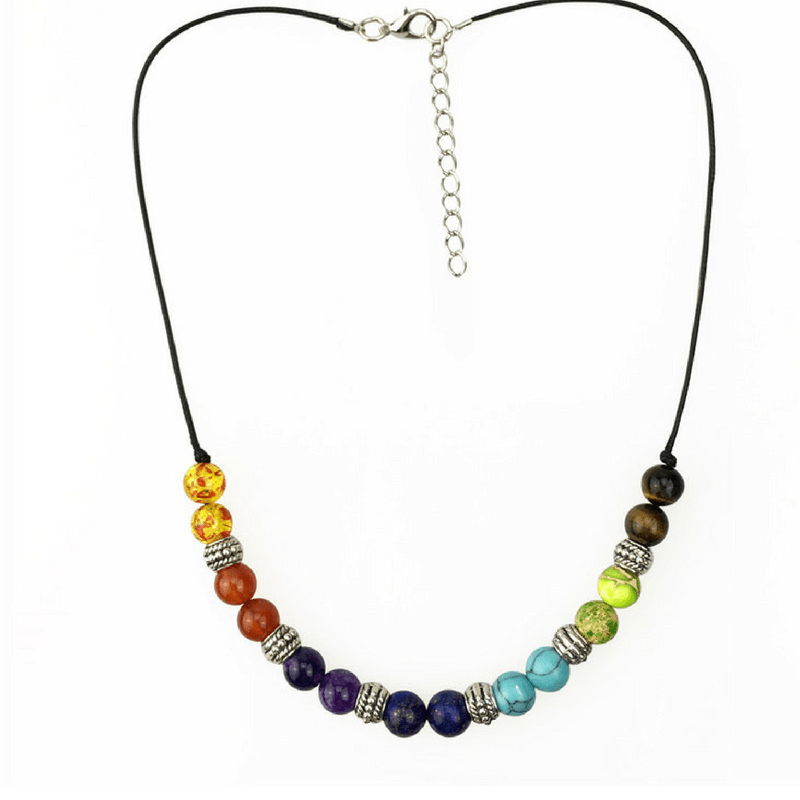7 Chakra Balancing Necklace Power Necklaces phantom jewelry