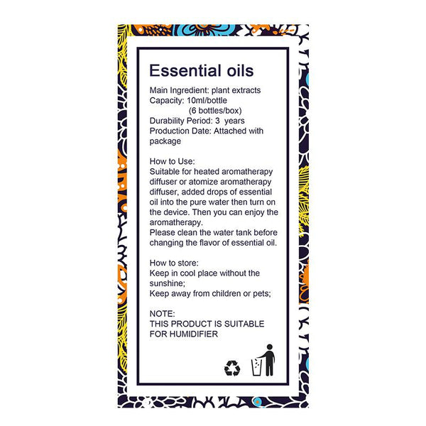 All Natural Plant Extract Essential Oils