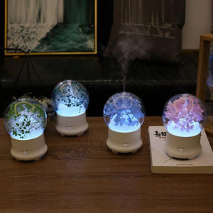 Ultrasonic Flower Aromatherapy Diffuser Humidifiers ejoai Store