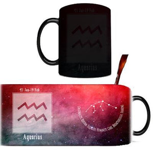 Creative Constellation Mug – Color Changing Mugs Cute kids store Aquarius