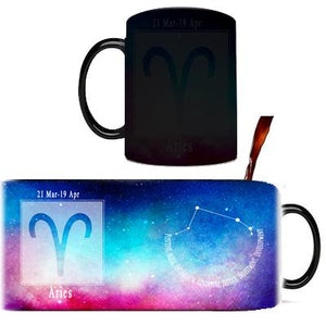 Creative Constellation Mug – Color Changing Mugs Cute kids store Aries