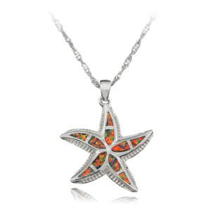 Opal Starfish Pendant Pendants OPAL OPAL Brown Opal