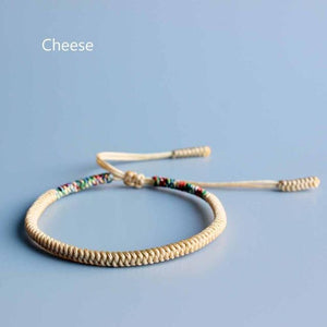 Tibetan Buddhist Blessed Lucky Knot Bracelets Brave Set Eastisan Store Cheese