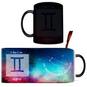 Creative Constellation Mug – Color Changing Mugs Cute kids store Gemini