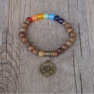 Handmade 7 Chakra Balancing and Luck Bracelet Amader Amader Store Tree of Life