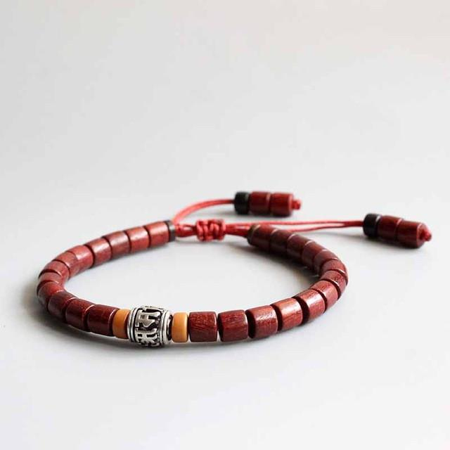 amazon wood beads com bracelet dark mens tibetan womens brown prayer mala buddhist dp