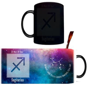 Creative Constellation Mug – Color Changing Mugs Cute kids store Sagittarius