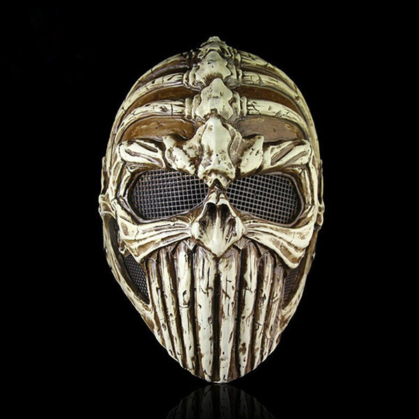 "Movie ""Ghost Rider"" Horror  Demon theme Fiberglass CS Protective Mask"