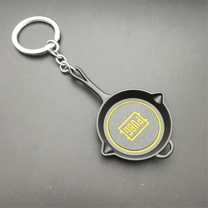 PUBG Olive Branch Frying Pan Keychain