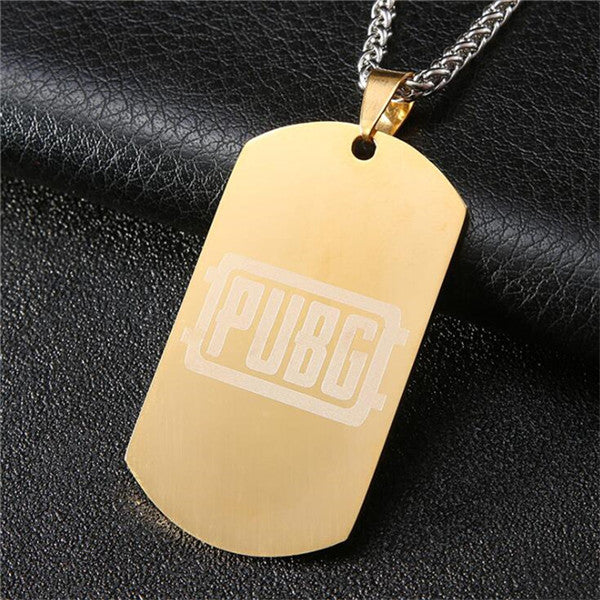 PUBG Cosplay Stainless Steel Pendant