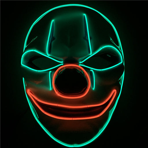 Game Payday LED Light Mask