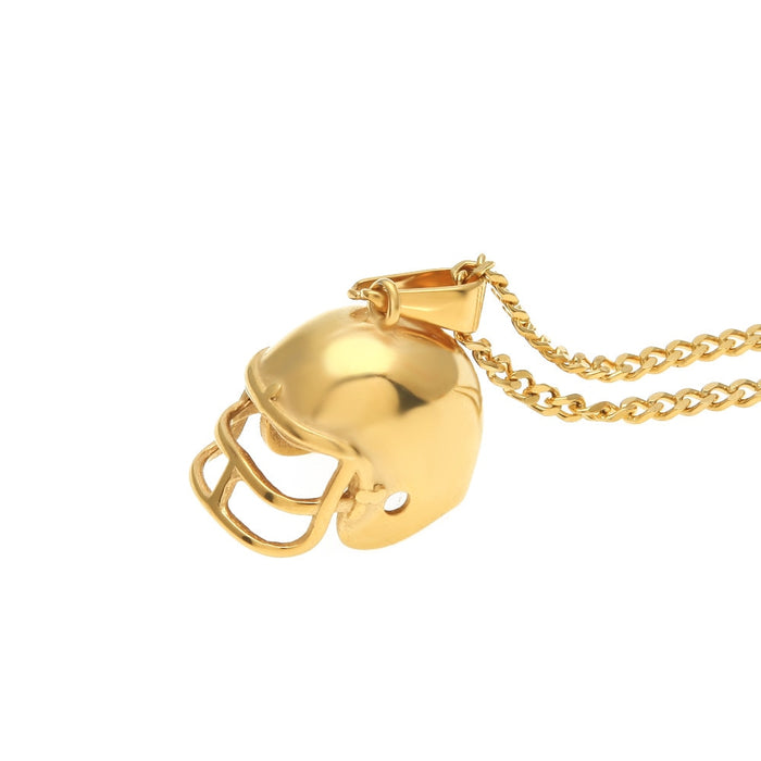 PUBG Gold Helmet Chain Necklaces