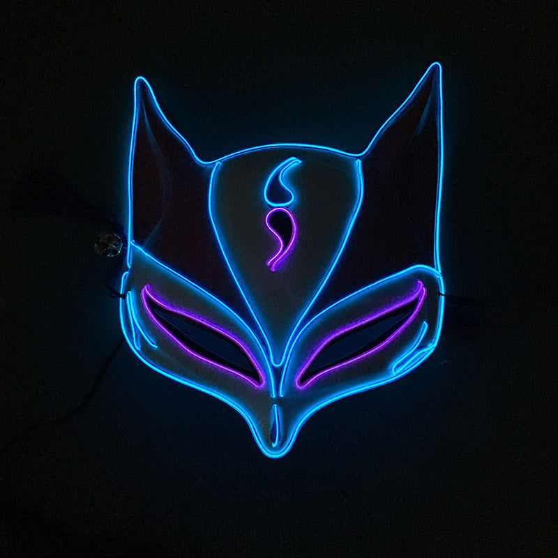 Natsume's Book of Friends - LED Blue & Purple Fox Mask